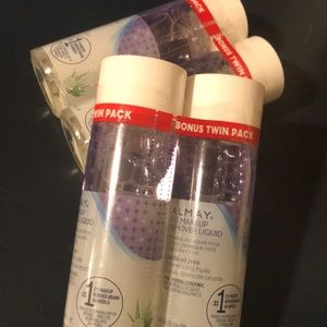 Twin pack Almay eye makeup remover